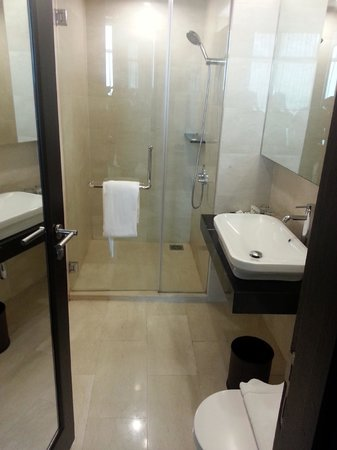 แฮทตัน โฮเต็ล มะละกา:                   bathroom