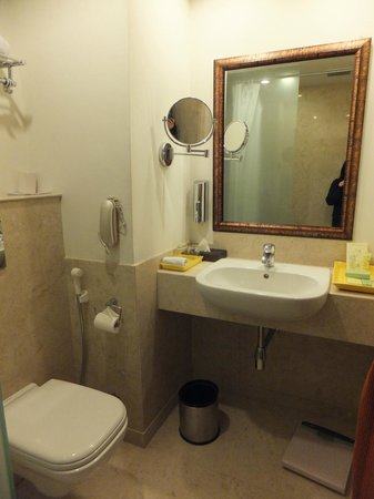 Lemon Tree Premier 1, Gurugram:                   Bathroom