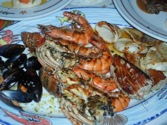 Iberostar Paraiso Maya:                   Seafood extravaganza
