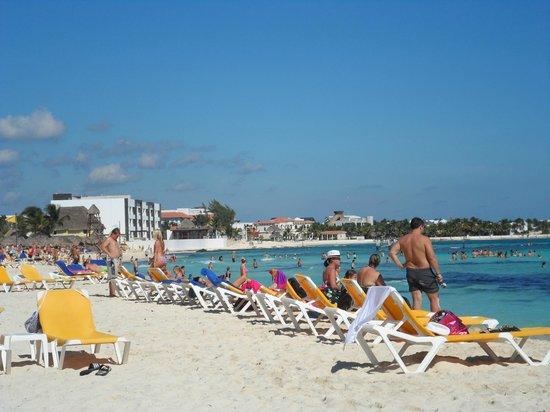 Iberostar Paraiso Maya:                   The beach