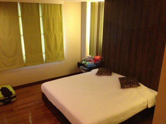 D Varee Diva Bally Silom, Bangkok:                   部屋