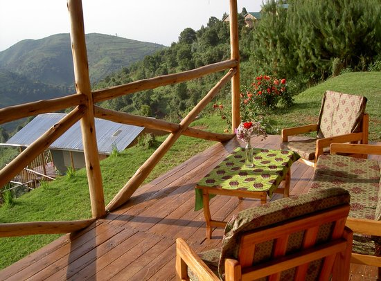 Bakiga Lodge:                   relaxing place