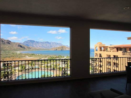 Villa del Palmar Beach Resort & Spa at The Islands of Loreto:                   view from the large balcony