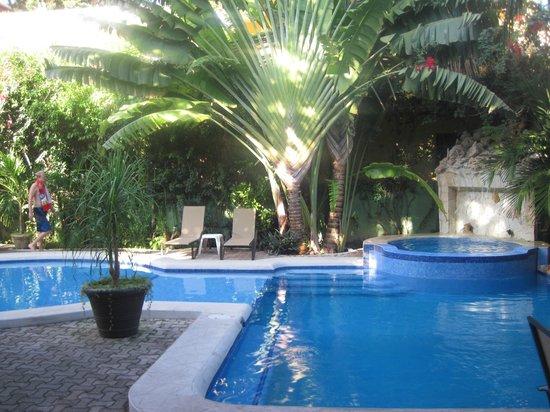 Hotel LunaSol:                   pool area