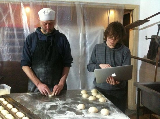 Companion Bakery: Baker and creative guy