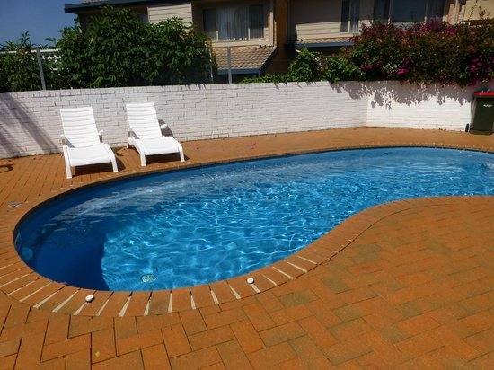 Merimbula Gardens Motel: good clean swimming pool
