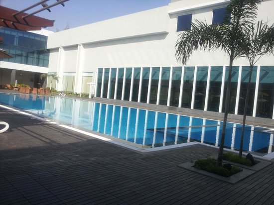 Radisson Hotel Kandla:                   The pool
