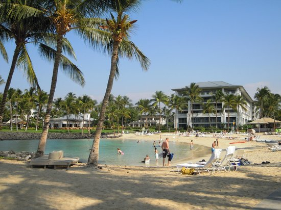 Fairmont Orchid, Hawaii: Nice private beach area