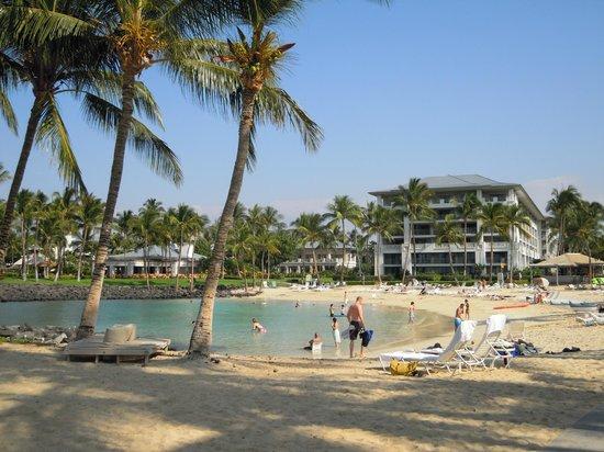 ذا فيرمونت أوركيد هاواي: Nice private beach area
