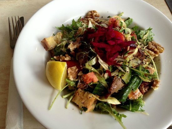 Casablanca Cafe:                   Yummy Lamb Fattoush!