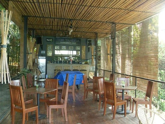 Belum Rainforest Resort: tom tambra bar