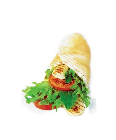 Fattoush: Grillad wrap