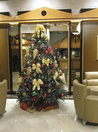 Hotel Metro:                   The lobby