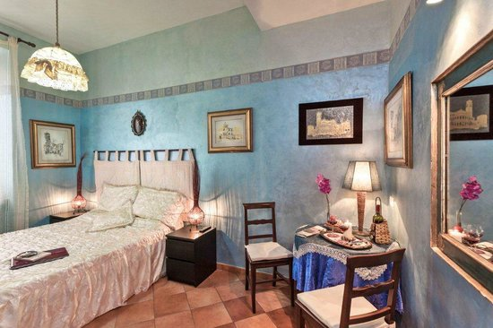 Prati B&B and Prati Vatican Apartment: B&B Blue double room