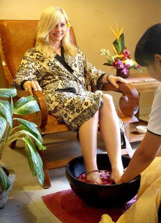 Tunjung Sari Spa Bali: menicure & pedicure