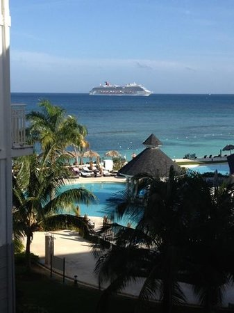 Secrets St. James Montego Bay:                   room with a view :-)