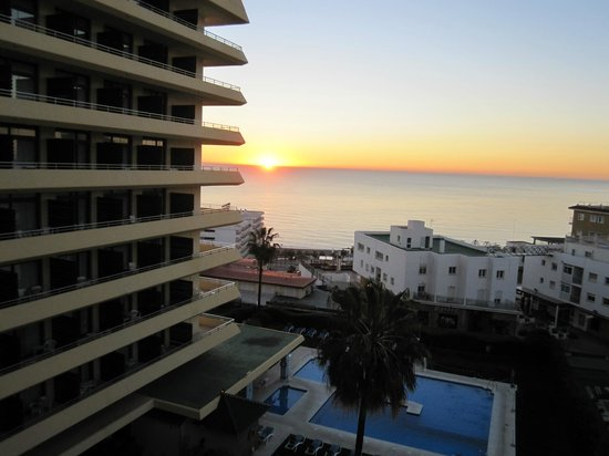Gran Cervantes by Blue Sea:                   Sunrise from balcony