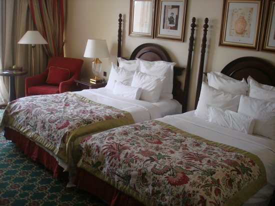 JW Marriott Hotel Cairo:                                     Double beds