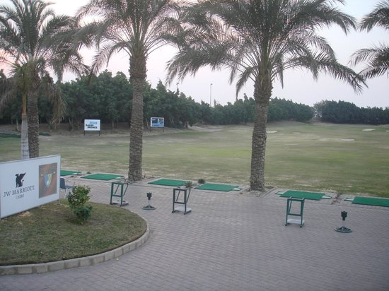 JW Marriott Hotel Cairo:                                     The driving range