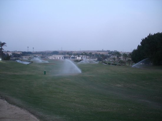 JW Marriott Hotel Cairo:                                     The golf course