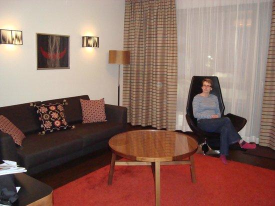 Levi Hotel Spa:                                     Junior Suite Lounge Room                                  