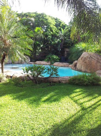 uShaka Manor Guest House:                                     Lovely pool & gardens at Ushaka