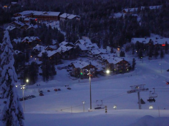 Spa Hotel Levitunturi:                                     Levi from top of Gondola