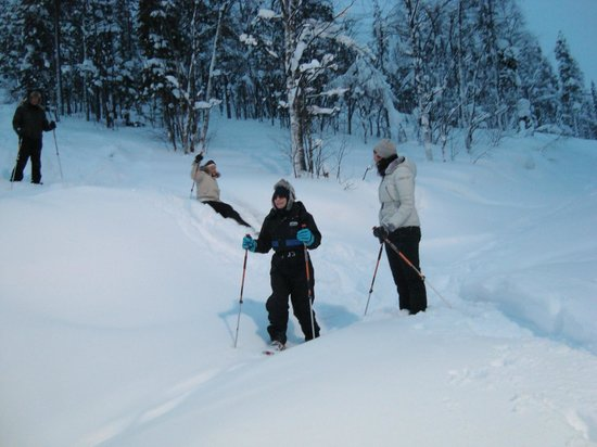 Levi Hotel Spa:                                     Snowshoe Trip