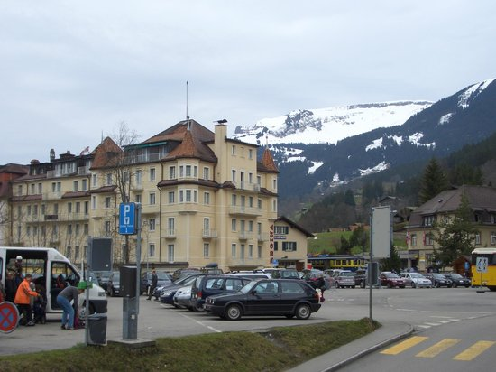 Grand Hotel Regina Grindelwald:                   вид на отель