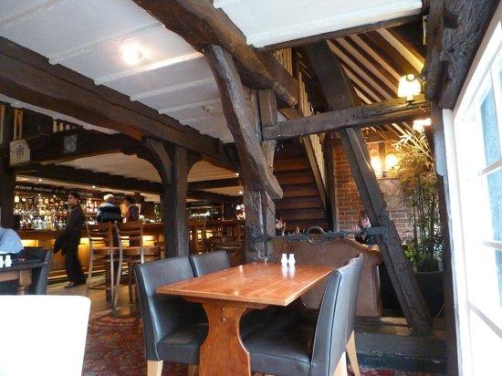 Chestfield Barn:                   Interior