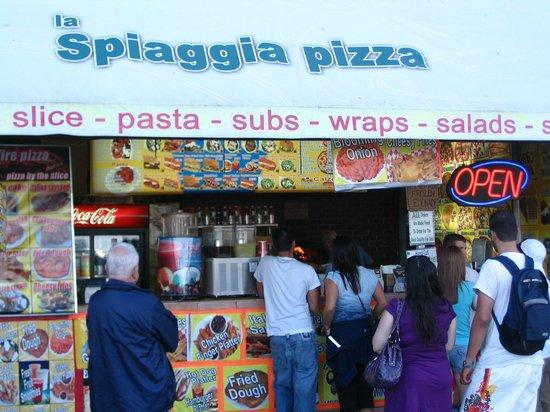 LA SPIAGGIA PIZZA