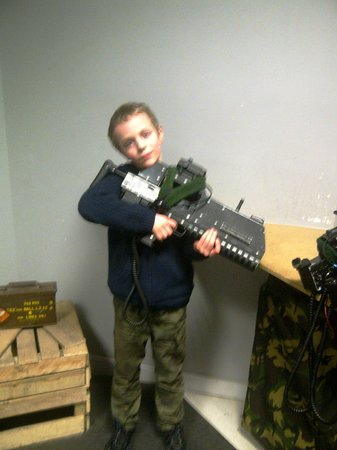 Battlefield Live Dundee:                                     This is the gun I should have used! :(