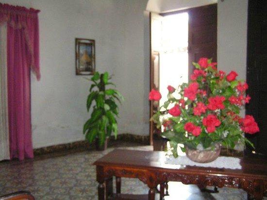Hostel Yaquelin Arrechea:                                     Detalle del salón.