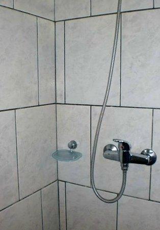 Hostel Yaquelin Arrechea:                                     Detalle de un baño.