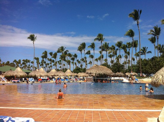 Sirenis Punta Cana Resort Casino & Aquagames:                   Piscine
