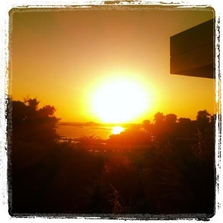 Almyra Hotel:                   sea view sunset