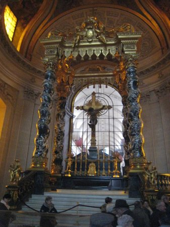 Militärmuseet (Musee de l'Armee): The altar in the Royal chapel