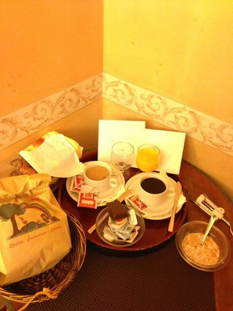 Welcome House:                                     Our breakfast