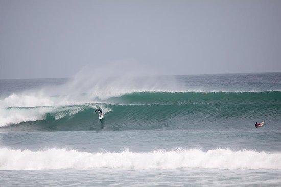 Fraser Baye Villas:                   Waves on offer at impossibles - 10 mins walk away