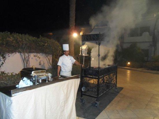 Iberotel Palace: BBQ