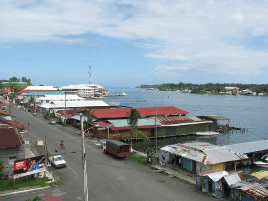 Hotel Palma Royale:                                     Bocas town view from Palm Royale