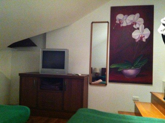 The Pe La Resort:                   Chambre du haut : 2 lits simples