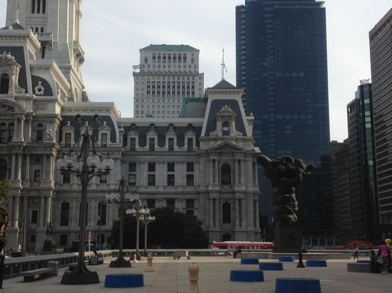 Le Meridien Philadelphia:                                     View from the hotel