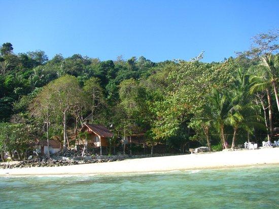 Tohko Beach Resort:                   Hotel vue de la mer
