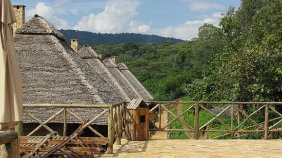 Neptune Ngorongoro Luxury Lodge: mountain views