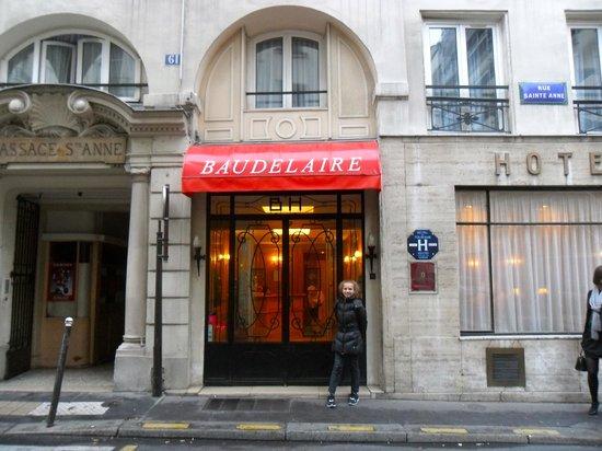 Hotel Baudelaire Opera:                   уютное и приятное место