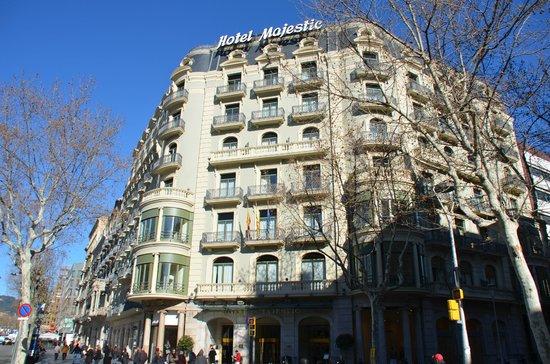 Majestic Hotel & Spa Barcelona:                   Aussenansicht