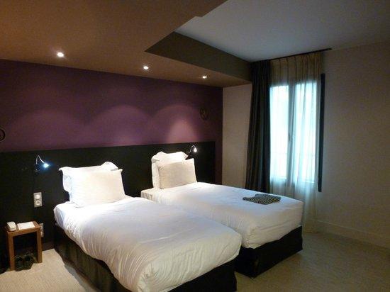 Ivan Vautier Hotel :                   Twin Room