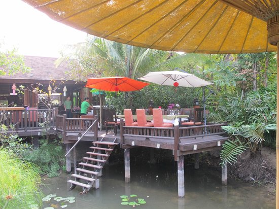 Oriental Siam Resort:                   Breakfast place