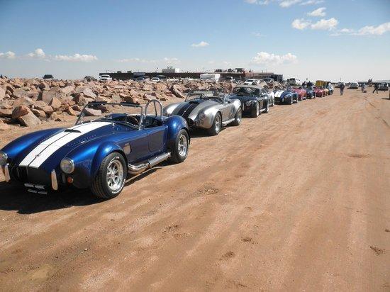 Challenge Unlimited:                   AC Cobra Rally - Pike's Peak Summit